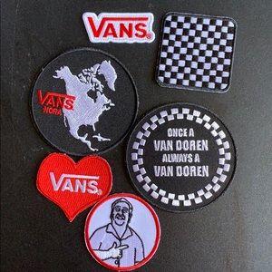 New Vans buttons
